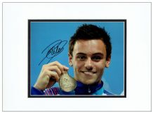 Tom Daley Autograph Photo Signed - Olympics
